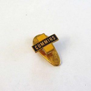 CUMMINS Rozet Metal Objeler Lapel Badge