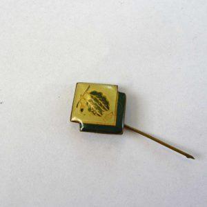 Meşeli Rozet Metal Objeler Lapel Badge