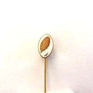 Tütün Yaprağı Rozet Metal Objeler Lapel Badge