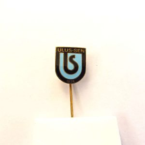 Ulus-Sen Rozet Metal Objeler Lapel Badge