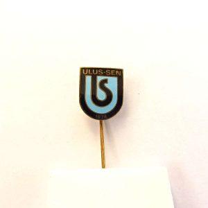 Ulus-Sen Rozet Metal Objeler Lapel Badge