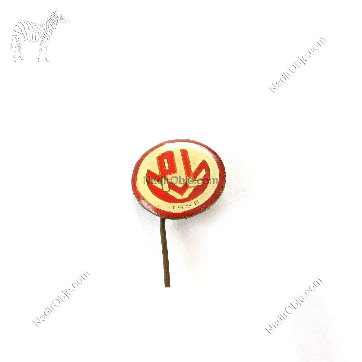 PL Rozet Metal Objeler Lapel Badge