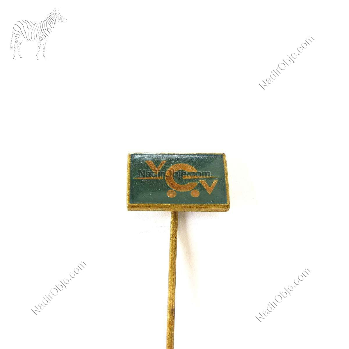 VCV Rozet Metal Objeler Lapel Badge