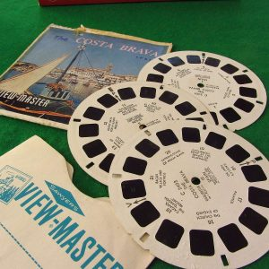 Costa Brava View-Master Film Diğer Objeler 3Boyutlu