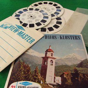 St Moritz-Davos-Klosters View-Master Film Diğer Objeler 3Boyutlu