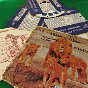 Wild Animals View-Master Film Diğer Objeler 3Boyutlu