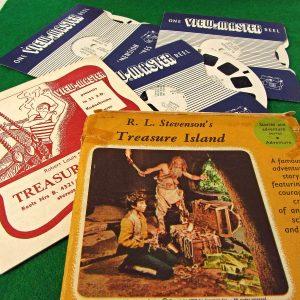 Tresure Island View-Master Film Diğer Objeler 3Boyutlu