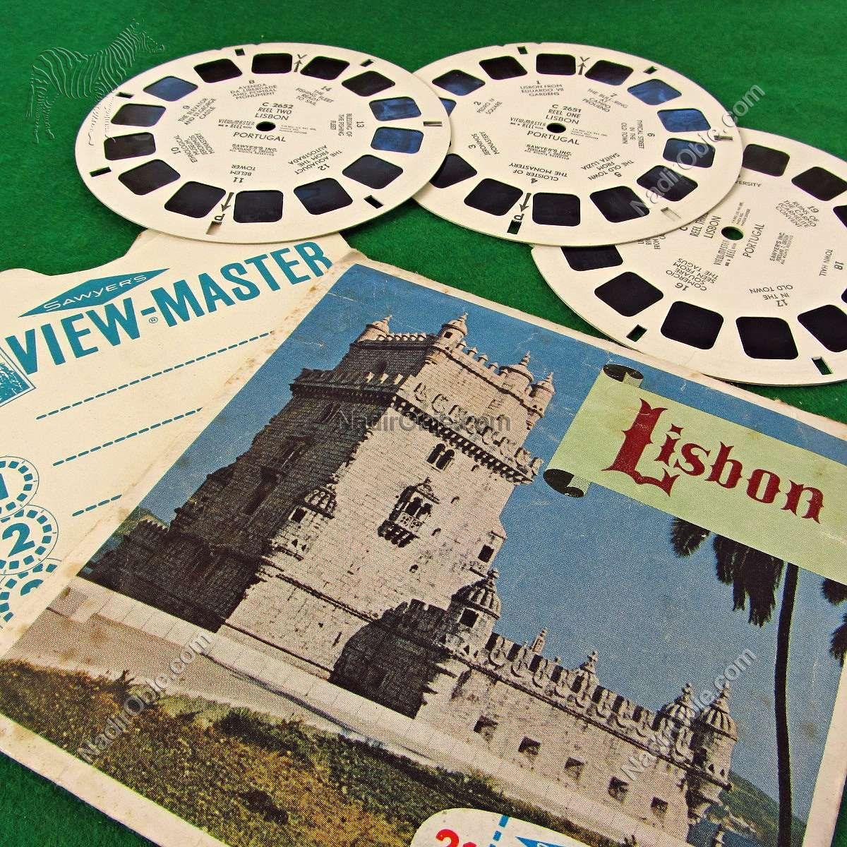 Lisbon View-Master Film Diğer Objeler 3Boyutlu