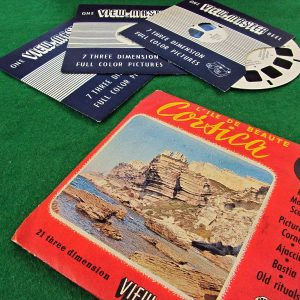 Corsica View-Master Film Diğer Objeler 3Boyutlu