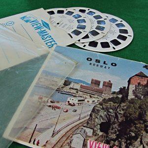 OSLO View-Master Film Diğer Objeler 3Boyutlu