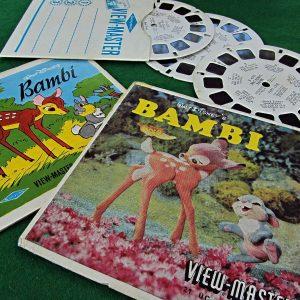 Bambi View-Master Film Diğer Objeler 3Boyutlu