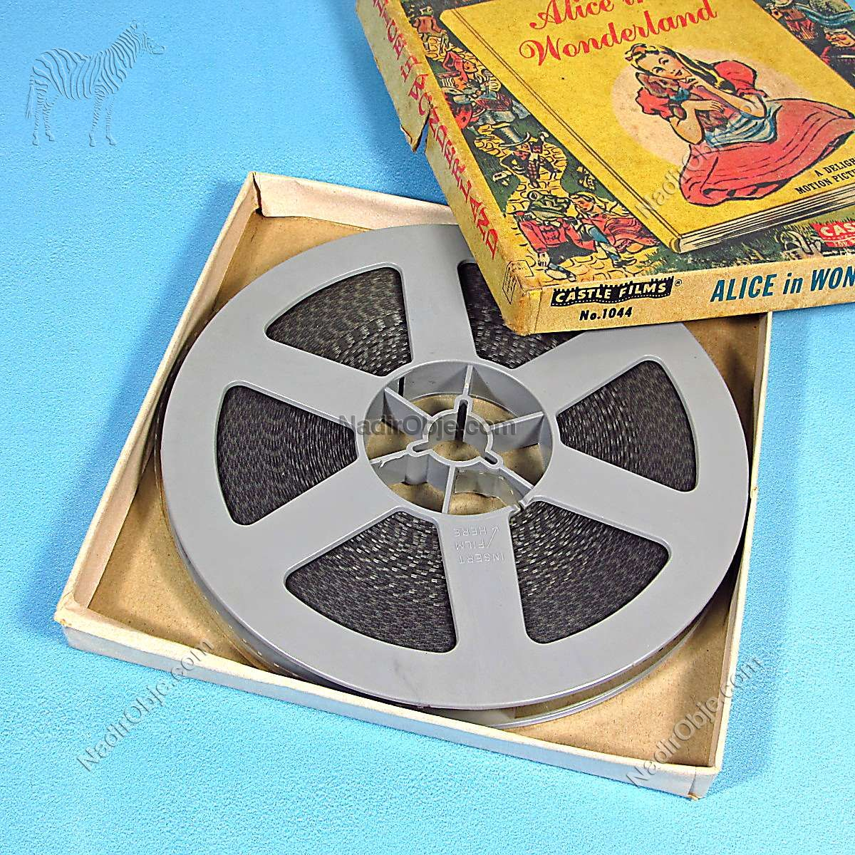 Alice in Wonderland 8 mm Film Diğer Objeler 8 mm