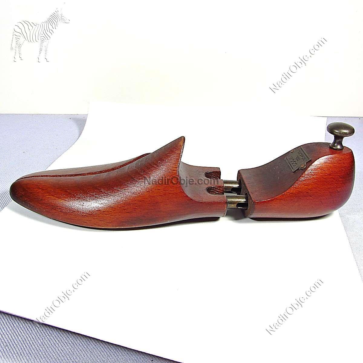 Dekor Ayakkabı Kalıbı Ahşap Objeler Ahşap