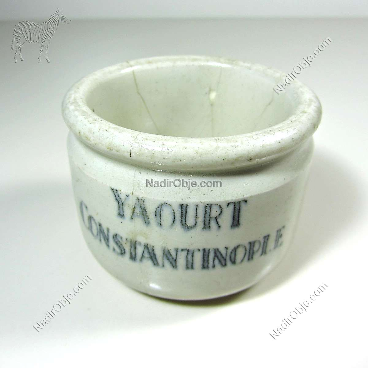 Yaourt Constantinople Seramik-Porselen Objeler Constantinople
