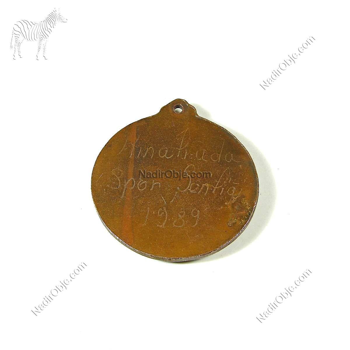 Kınalıada Spor Şenliği Yüzme Madalyası Diğer Objeler Madalya