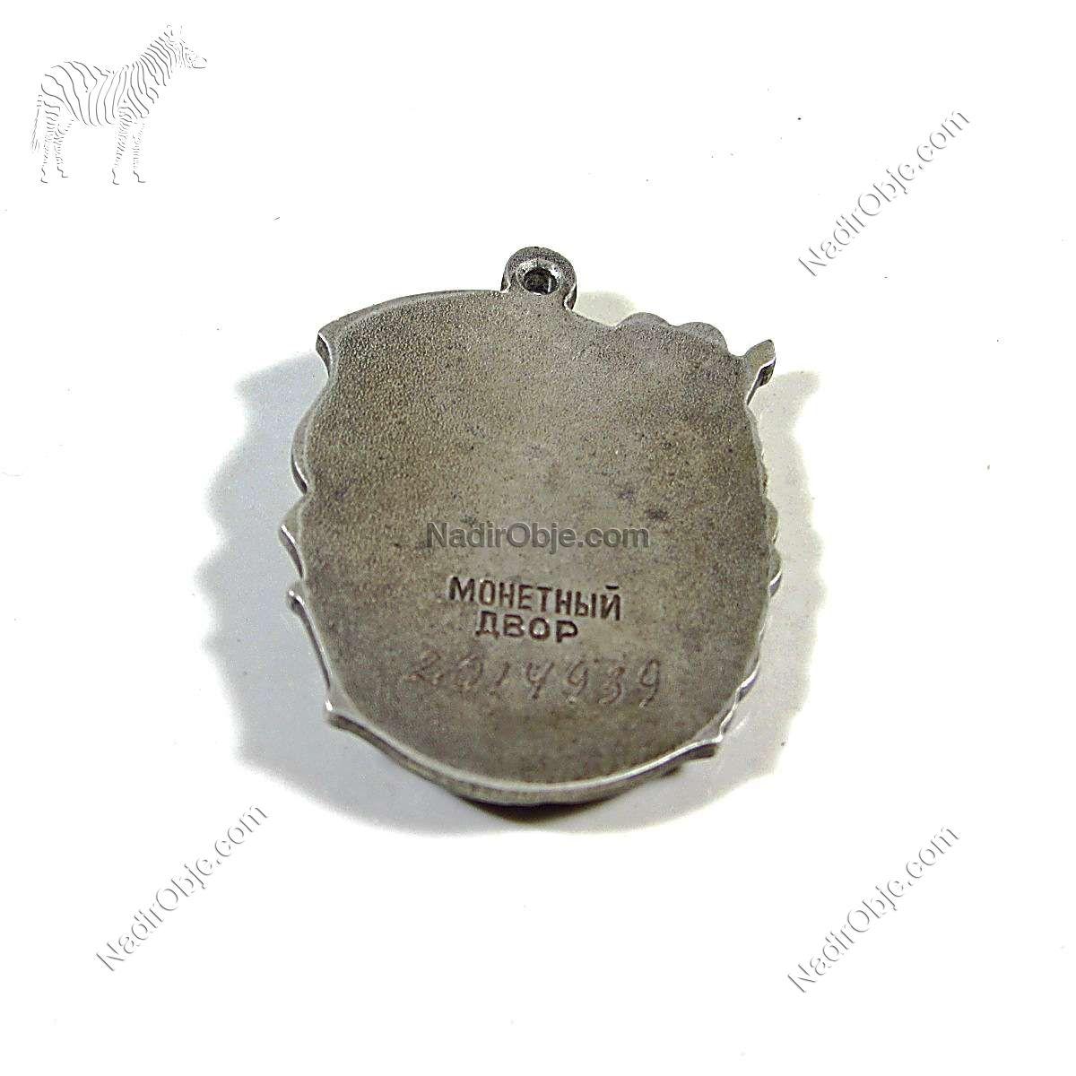 Sovyetler Dönemi Annelik Şanı Madalyası Üçüncü Derece Diğer Objeler CCCP